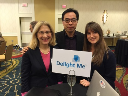Delight Me presents at ConnectPrenneur